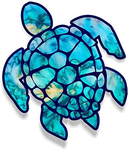 Vinyl Junkie Graphics Sea Turtle