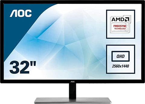 AOC Q3279VWFD8 2560x1440 DisplayPort Flickerfree