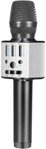 BONAOK Upgraded ?Bluetooth Microphone Rechargeable