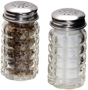 Retro Style Pepper Shakers Stainless