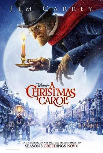 Disneys Christmas Carol Jim Carrey