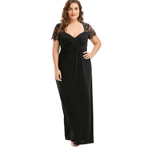 Goddessvan Dress V Neck Evening Formal