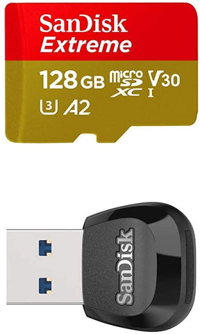 SanDisk Extreme 128GB microSD Adapter