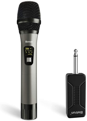 Wireless Microphone Handheld Rechargeable Amplifier