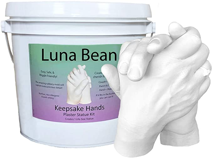 Luna Bean KEEPSAKE Plaster Materials