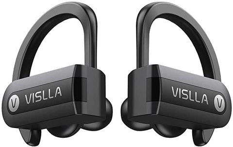 Vislla Bluetooth Headphones Sweatproof Earphones