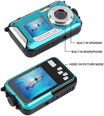 Waterproof Digital Underwater Recorder Recording