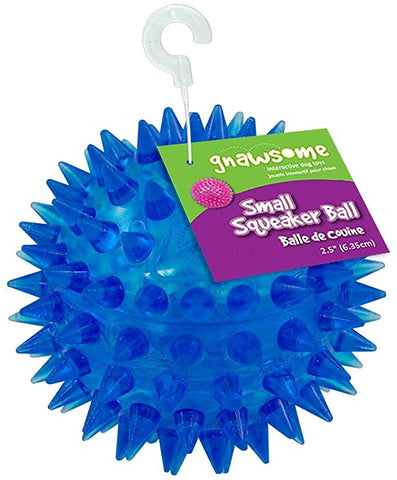 Image of Gnawsome Small Squeaker Ball Colors
