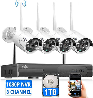 Expandable Wireless Security Hiseeu Surveillance