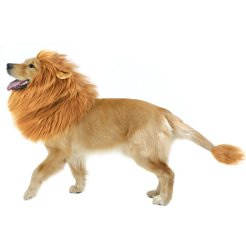 CPPSLEE Halloween Lion Costume Brown