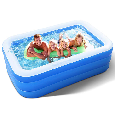 Inflatable Adults Family Kiddie Swimming