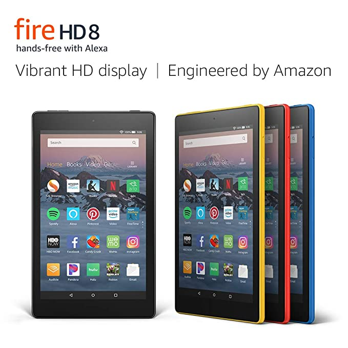 All New Fire Tablet Display Marine