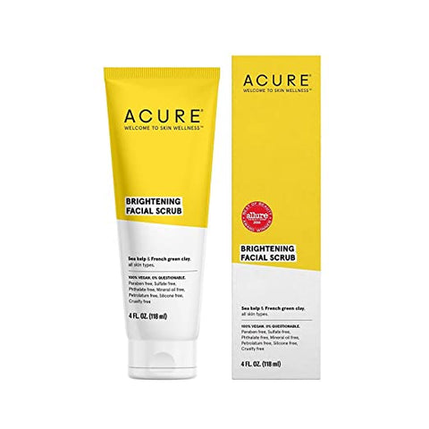ACURE Brilliantly Brightening Facial Packaging