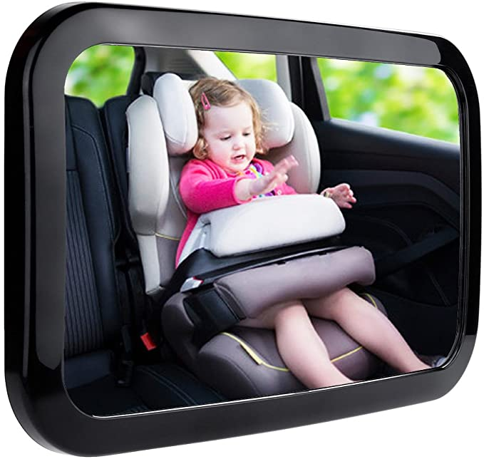 Zacro Shatter Proof Rearview Mirror Easily Adjustability