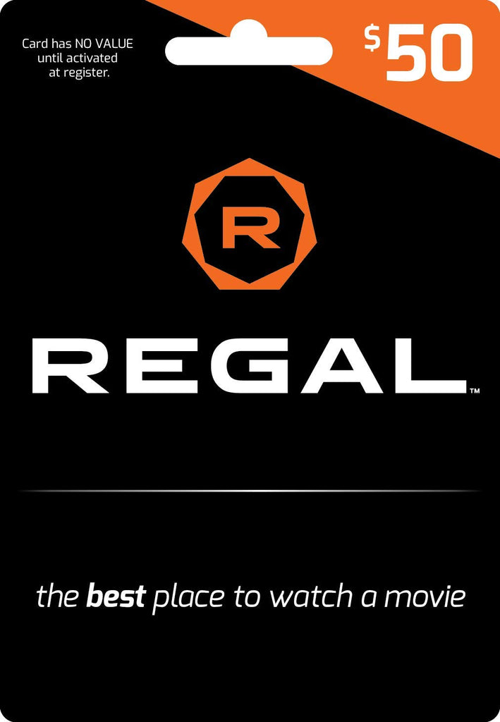 Regal Entertainment Gift Card 50