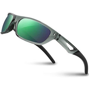 RIVBOS Polarized Sunglasses Unbreakable Baseball