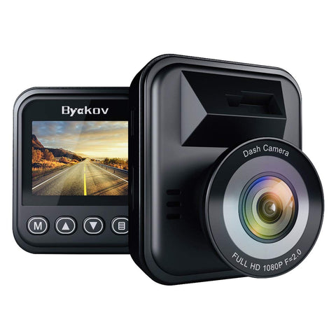 Byakov G Sensor Parking Monitor Recording