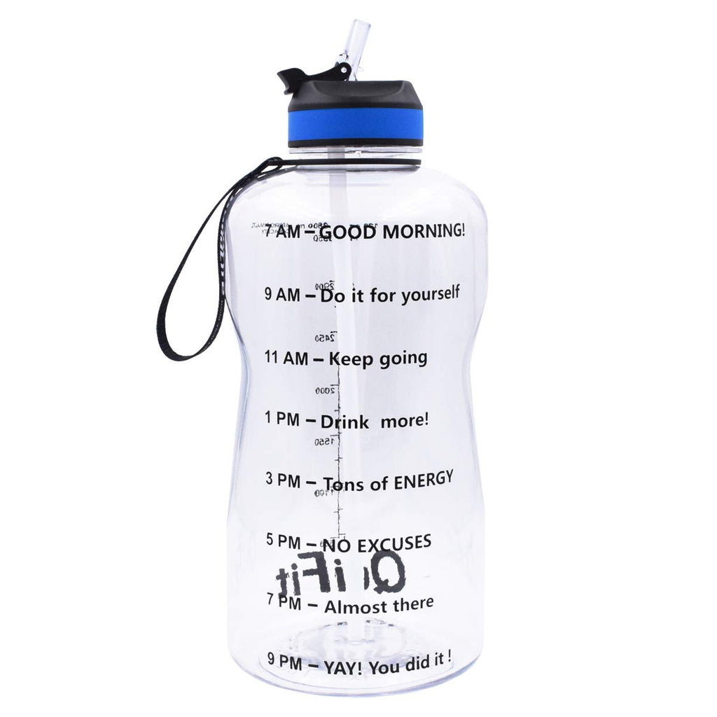 QuiFit Motivational Gallon Bottle Marker