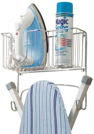 mDesign Ironing Holder Storage Basket