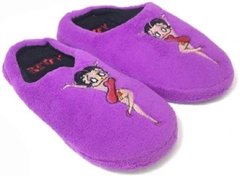 Betty Boop Ultra Soft Non Skid Slippers