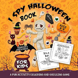 Spy Halloween Book Kids Ages