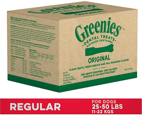 GREENIES Original Regular Dental Natural