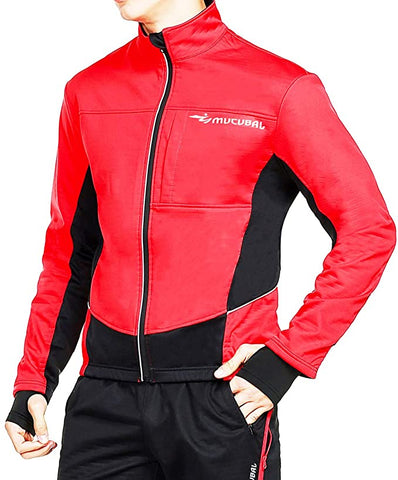 MUCUBAL Cycling Windproof Softshell Breathable