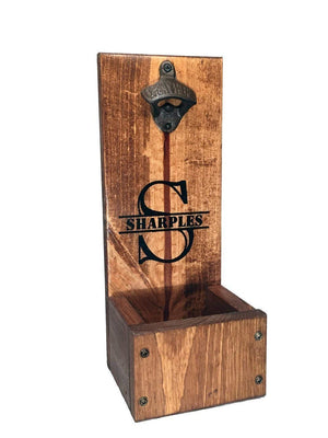 Bottle Opener Cap Catcher Freestanding