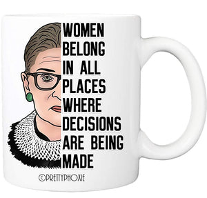 Women Belong Places Where Decisions