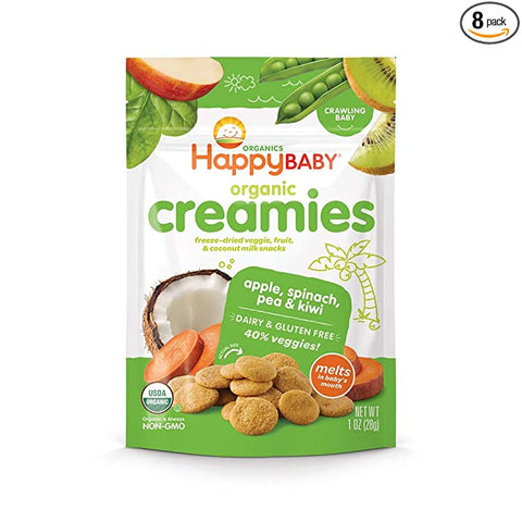 Happy Baby Freeze Dried Dairy Free Gluten Free