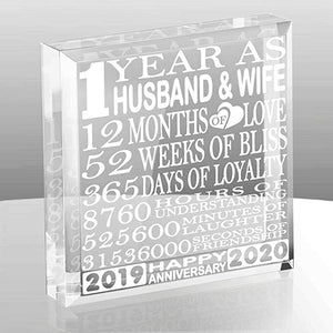 Kate Posh Paperweight Keepsake Anniversary