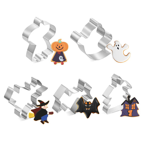 Image of Joyoldelf Halloween Cutters Stainless Baking Bat