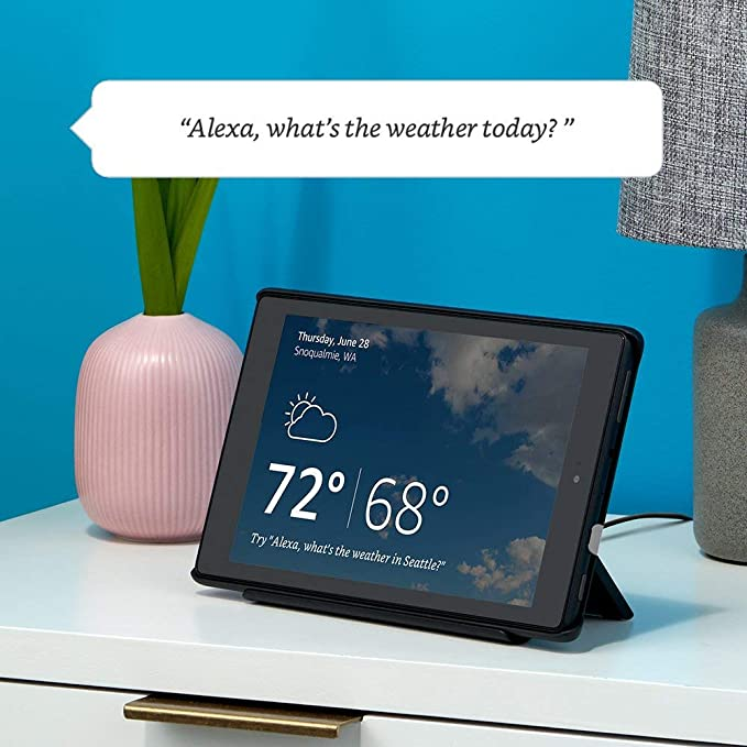 All New Tablet Alexa Display Black