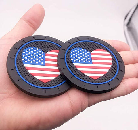 Good Looking Heart Shaped American Coasters Accessories