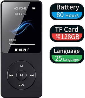 RUIZU X02 Recorder Playback Expandable