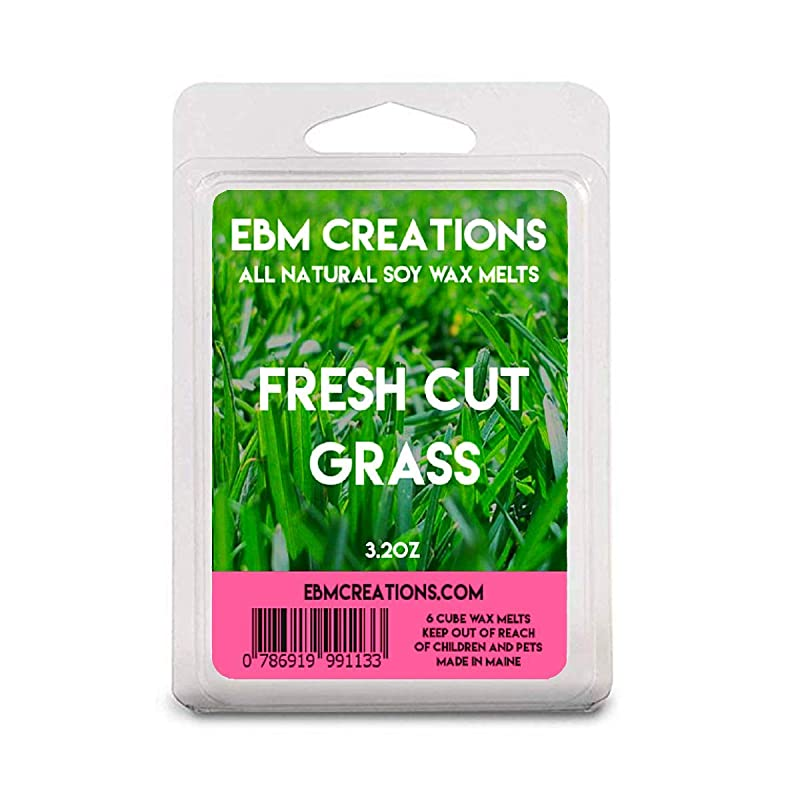 Fresh Cut Grass Scented Clamshell