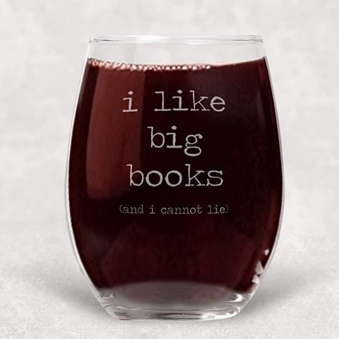 Books cannot Stemless Glass Introvert