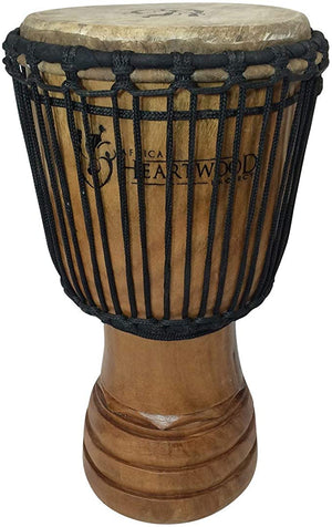 Classic Heartwood Djembe Drum Hand carved