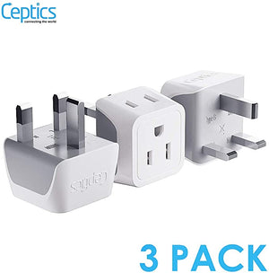 Hong Ireland Travel Adapter Ceptics