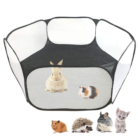 Amakunft Breathable Transparent Chinchillas Hedgehogs
