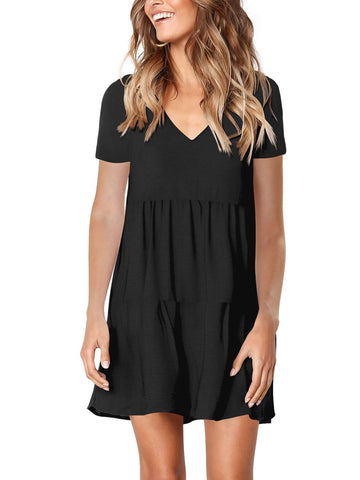 Amoretu Womens Loose Summer Sleeves