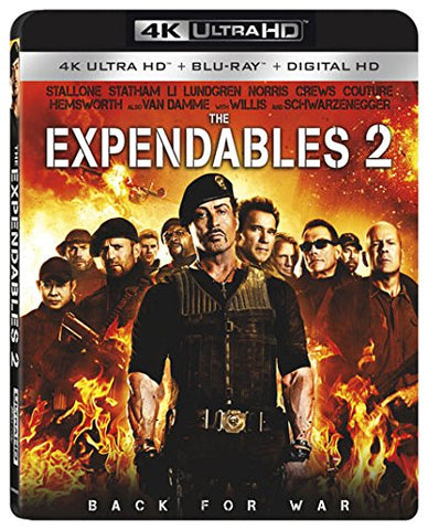 Expendables 4K Ultra Blu ray Digital