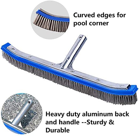 Lalapool Swimming Aluminum Stainless Cleaning