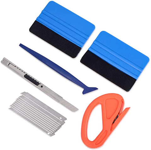 Vehicle Squeegee Retractable Snap off Wrapping