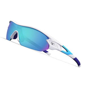 TOREGE Polarized Sunglasses Interchangeable Baseball