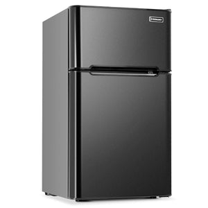 Freezer Compact Refrigerator Apartment Beer,Black