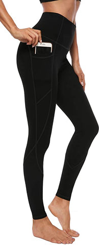 AFITNE Pockets Control Workout Leggings