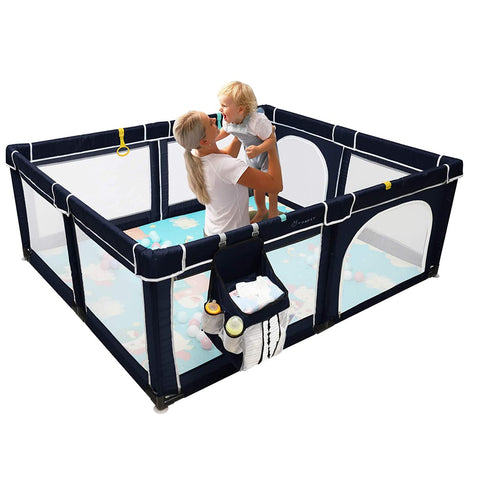 Image of Halloween Playpen Playard Activity Portable
