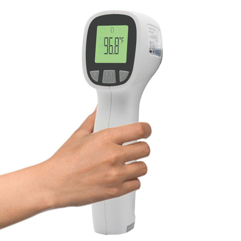 Image of Thermometer Batteries Non Contact Thermometers Temperature