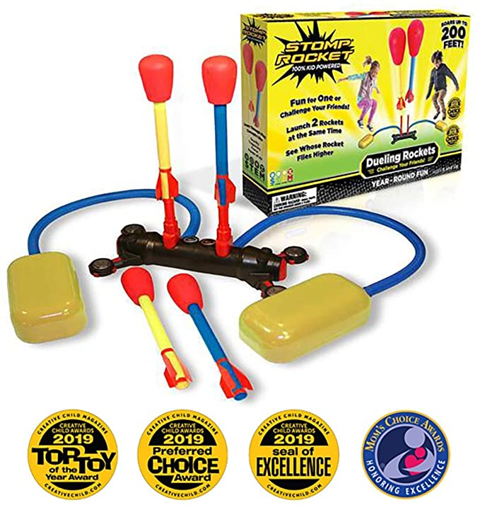 Stomp Rocket Dueling Rockets Packaging